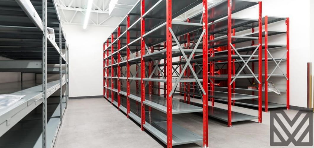 Interlok no bolt warehouse shelving