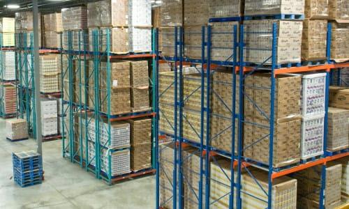 warehouse pallet rack