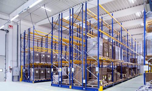 moving pallet racks