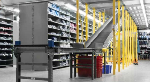 Multi Tiered Warehouse Shelving Solutions