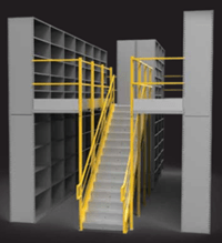 custom heavy duty shelving